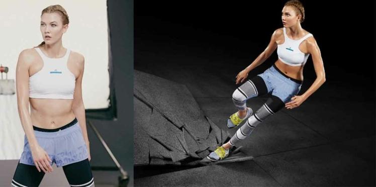 Karlie Kloss, égérie sportive pour Adidas