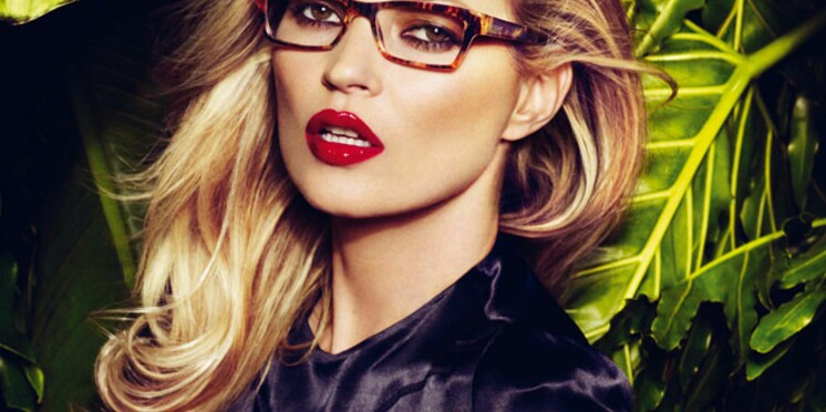 Kate Moss, égérie de la collection printemps-été 2011 de Vogue Eyewear