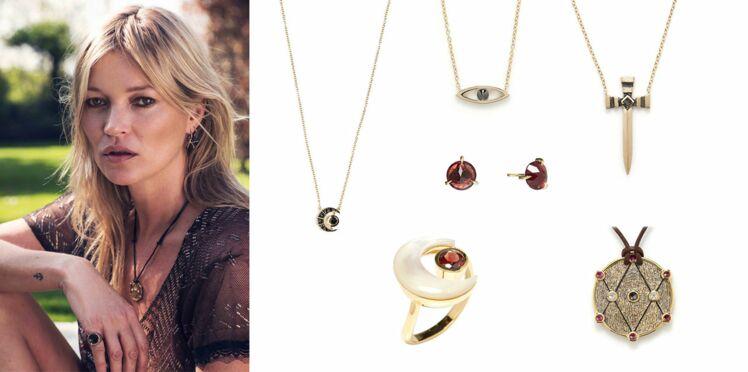 Découvrez la ligne de bijoux bobo chic créée par Kate Moss