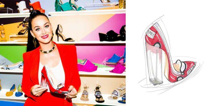 Katy Perry lance sa ligne de chaussures !
