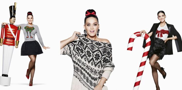 Katy Perry, égérie H&M pour Noël !