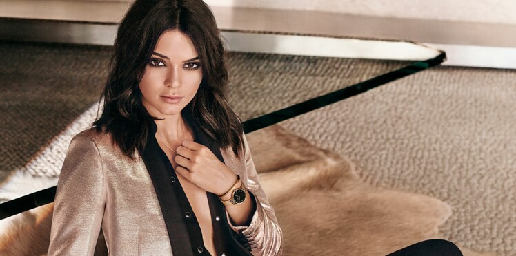 Kendall Jenner égérie de la nouvelle montre Daniel Wellington