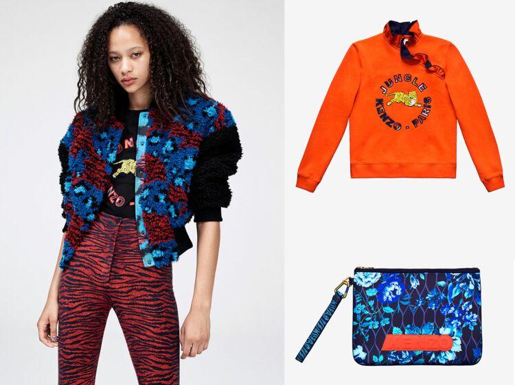 Collection Kenzo by H M   5 conseils pour faire son shopping   Femme  Actuelle Le MAG 3e1f205dd61