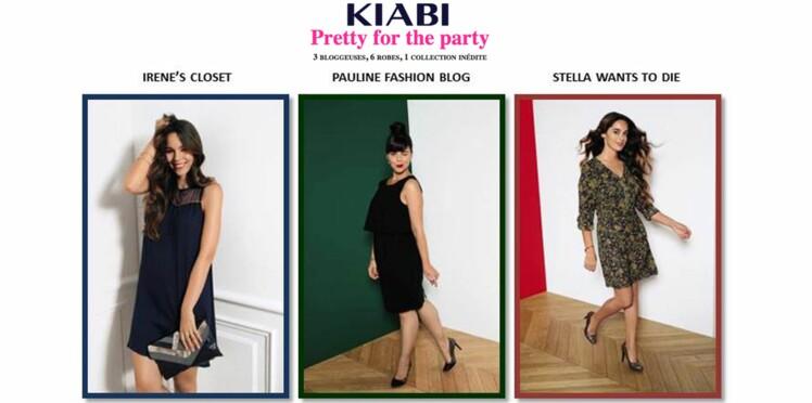 Kiabi lance une collection imaginée par 3 bloggeuses