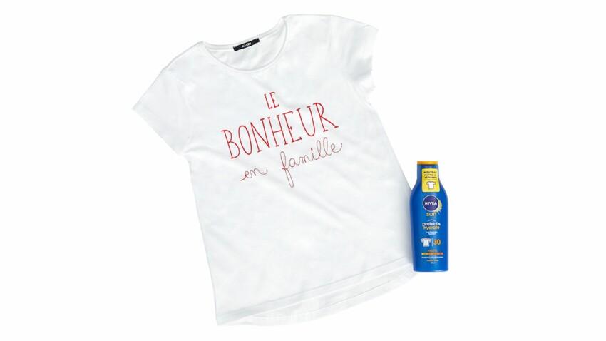 Kiabi x NIVEA : des tee-shirts qui sentent bon le soleil