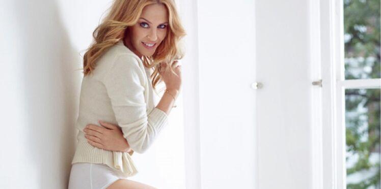 Kylie Minogue : nouvelle égérie Sloggi