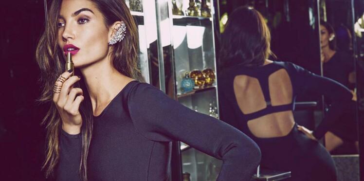 La campagne glamour de Nelly.com avec Lily Aldridge