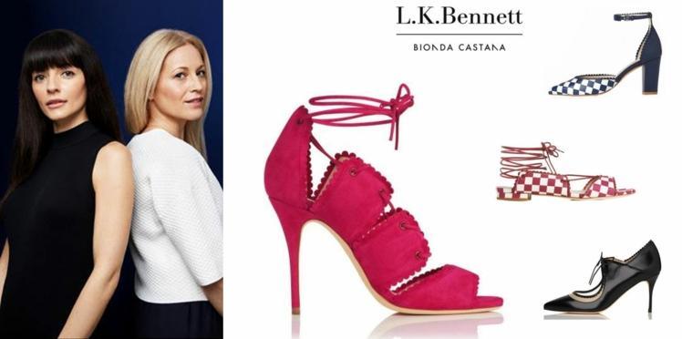 La capsule chaussures L.K.Bennett x Bionda Castana
