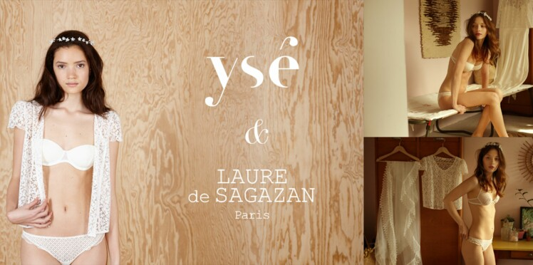 La collab' lingerie Ysé x Laure de Sagazan