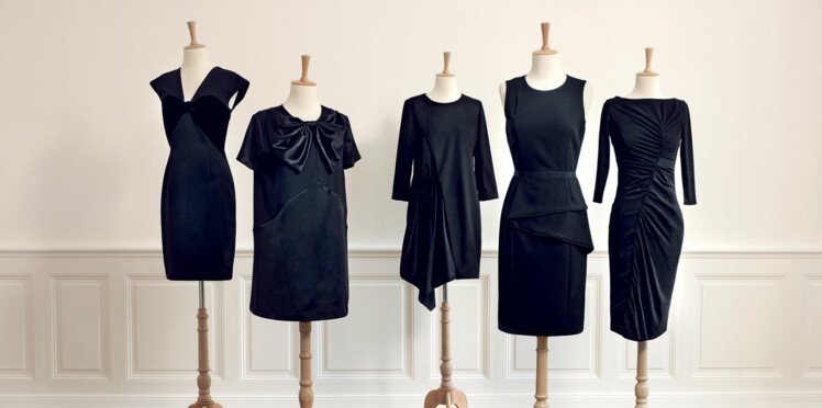 La petite robe noire couture chez Monoprix