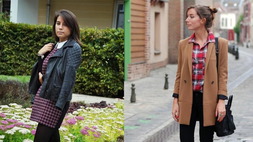 Looks de blogueuses : la tendance tartan