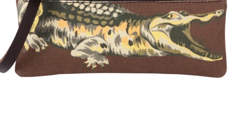 Lacoste place son crocodile au centre d'une ligne de maroquinerie