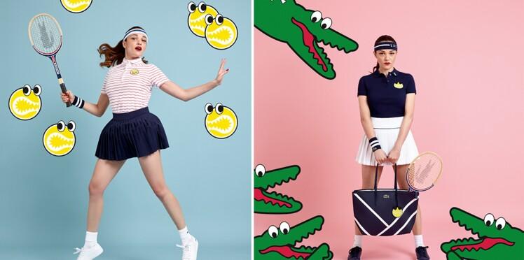 Lacoste x Yazbukey : la capsule tennis trop fun !
