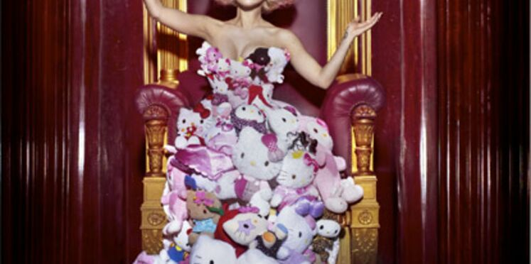 Lady Gaga rend hommage à Hello Kitty
