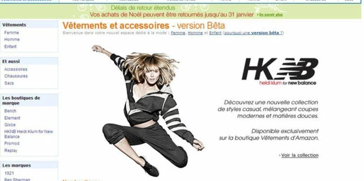 Lancement d'une boutique de prêt-à-porter sur Amazon.fr