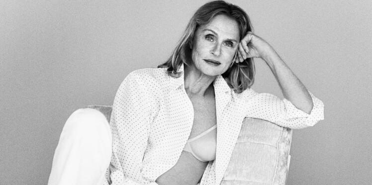 A 73 ans, Lauren Hutton devient égérie des dessous Calvin Klein