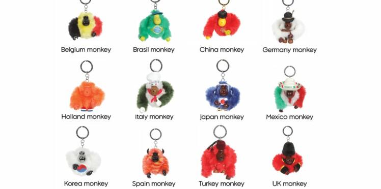 Le singe Kipling aux couleurs des J.O.