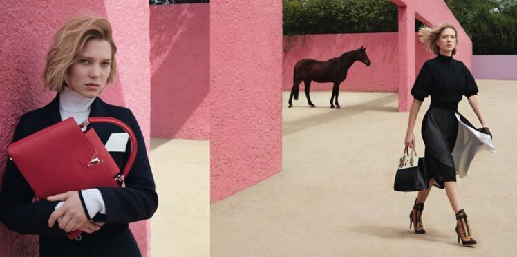 Léa Seydoux pour Louis Vuitton : une première campagne surprenante