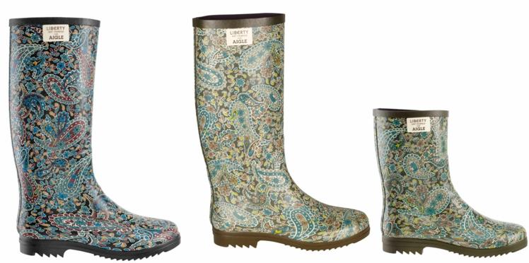 Les bottes de pluie Aigle by Liberty