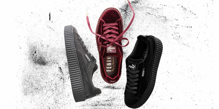 Wanted : les Creepers de Fenty Puma by Rihanna