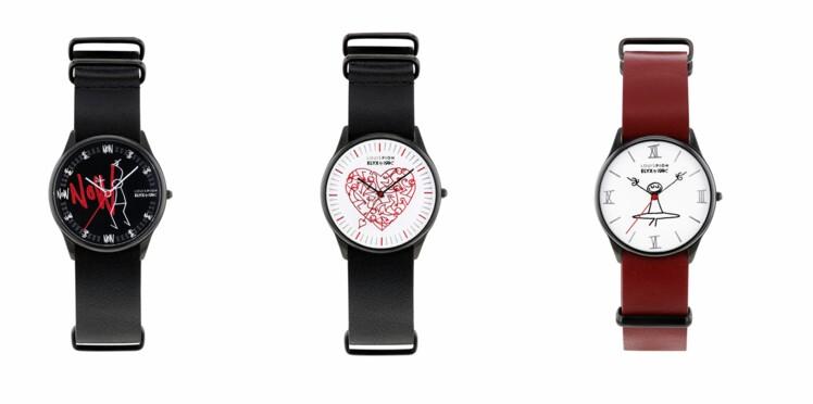 Les montres Louis Pion x Elyx by Yak