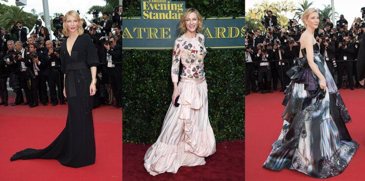 Les plus beaux looks de Cate Blanchett
