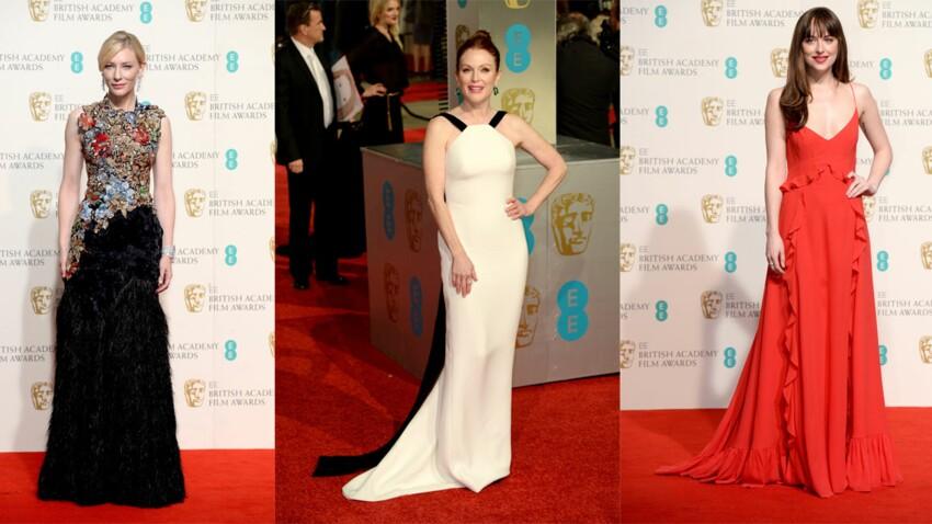 Les plus belles robes des BAFTA 2016