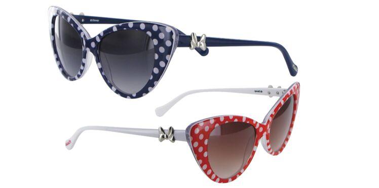 Des lunettes à pois rétro à point nommé pour l'été