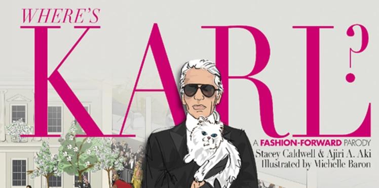 « Where's Karl ? » : le livre mode ludique