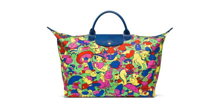 Longchamp : le nouveau sac signé Jeremy Scott