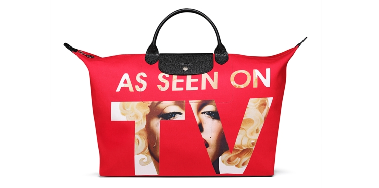 Par ici le nouveau sac Jeremy Scott for Longchamp !
