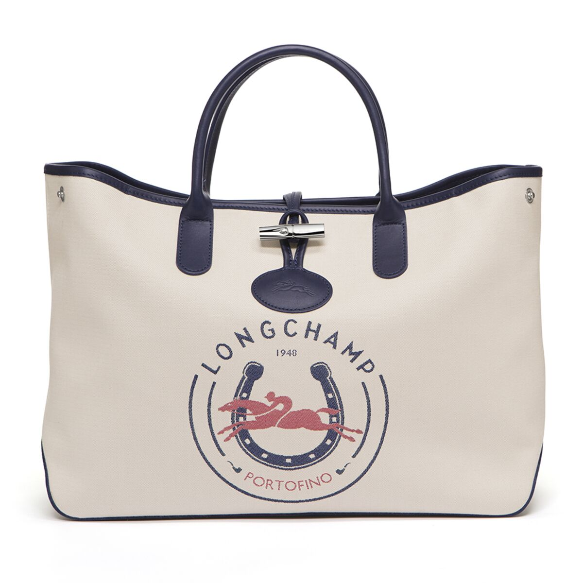 Longchamp réédite son sac Roseau, en toile jacquard et au nom de ...