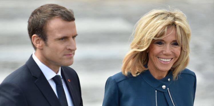 Pourquoi Brigitte Macron accorde ses tenues à celles de son mari Emmanuel