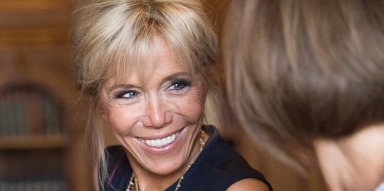 Brigitte Macron : son look très mode pour le dîner des créateurs à l'Elysée