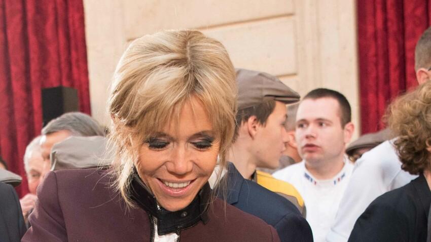 Le look de Brigitte Macron pour découper la galette des rois