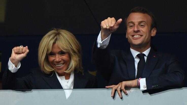 Coupe du monde 2018 : Brigitte Macron assortie à son mari pour la finale