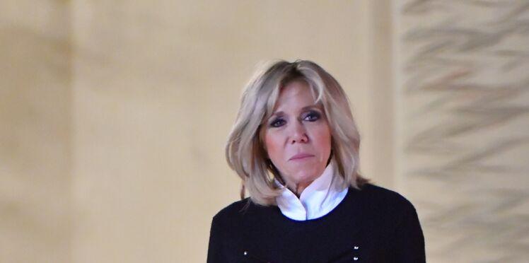 Le look d'écolière de Brigitte Macron pour recevoir des enfants de l'Unicef