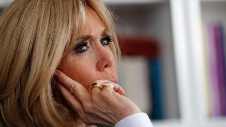 Le look chic de Brigitte Macron pour rendre visite aux enfants autistes
