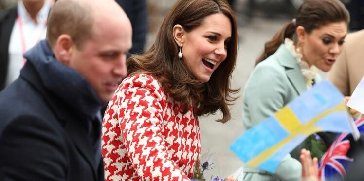 Kate Middleton, enceinte de 7 mois, éblouit les Suédois dans des tenues ultra chics
