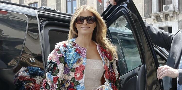 Melania Trump : le prix exorbitant de sa veste fait le – bad – buzz