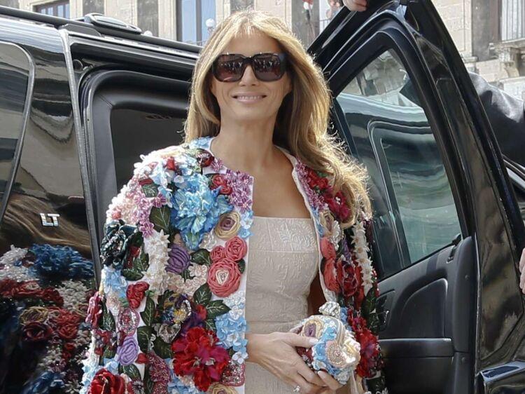 Veste Prix Melania Sa Trump Le Exorbitant De Fait 44qfSY 0620f699766