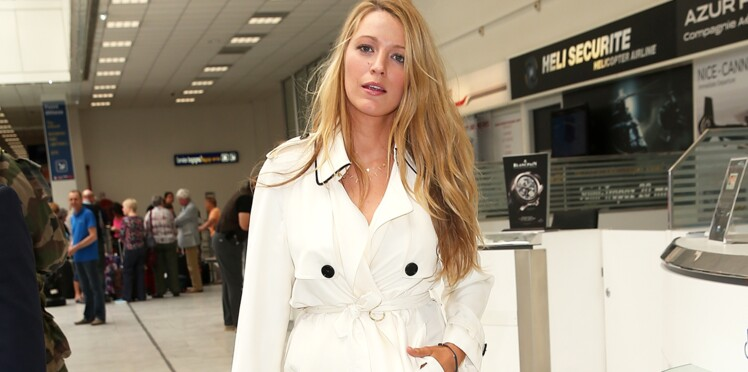 Cannes : Spotted ! Blake Lively en Burberry