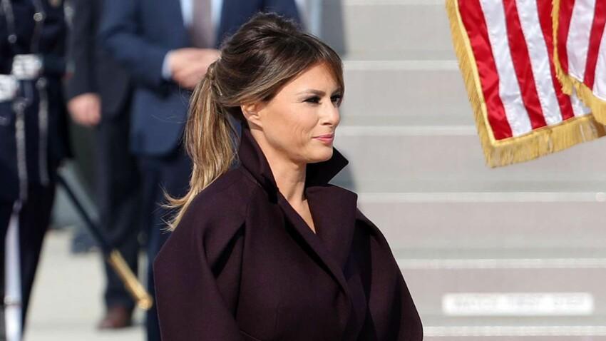 Photos - Melania Trump, un défilé de looks haute couture pour son voyage officiel