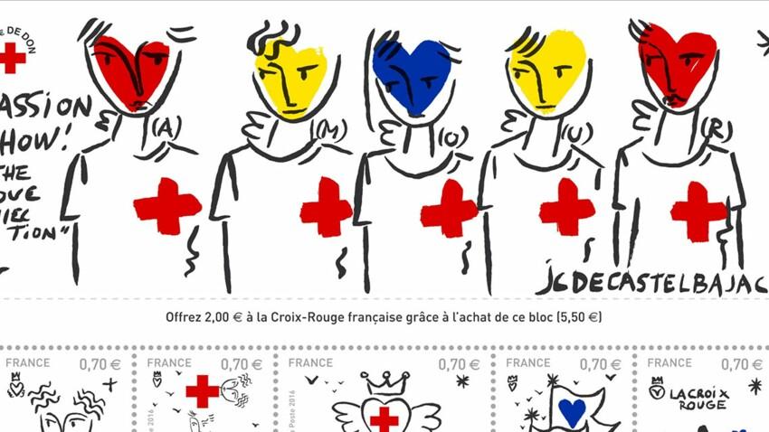 « Love Collection » : des timbres solidaires signés Castelbajac