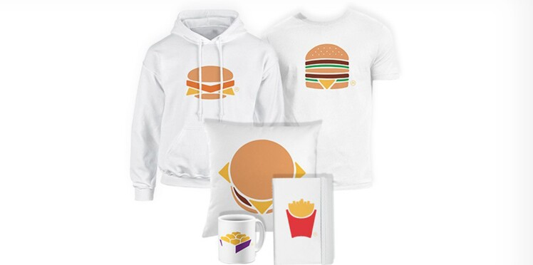 McDonald's France lance sa boutique en ligne dédiée aux produits iconiques de l'enseigne