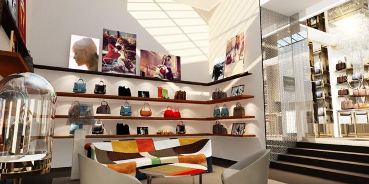 La Maison Lancel célèbre ses 135 ans avec la réouverture de sa boutique sur les Champs-Elysées