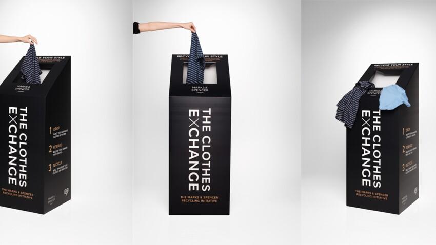 Marks & Spencer lance Clothes exchange