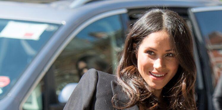 Meghan Markle, son look fait entorse au protocole de la couronne