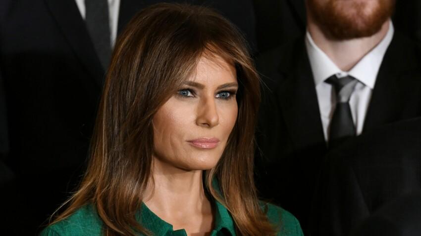 Melania Trump surprend en copiant la robe d'une autre première dame