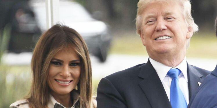 Melania Trump en trench et ballerines pour mettre fin aux critiques
